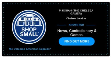 American Express Small Shop with The Chelsea Gamer