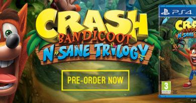 Crash Banicoot - N-Sane Trilogy