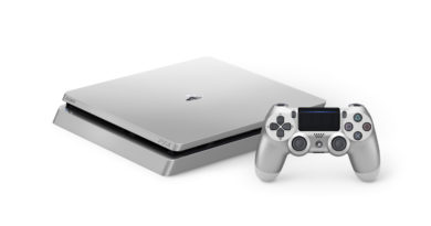 PS4 in Silver