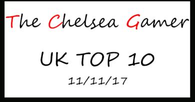 Top 10 - W/e 11/11/2017