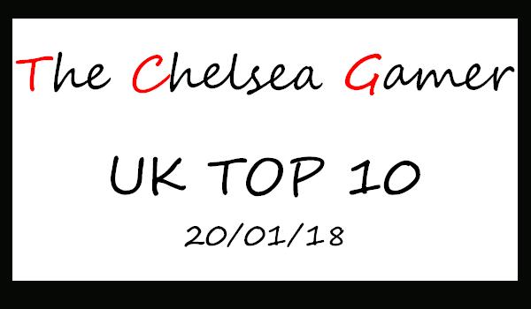TOP 10 - 20/01-2018