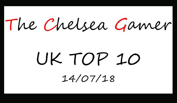 UK TOP 10 14-07-2018