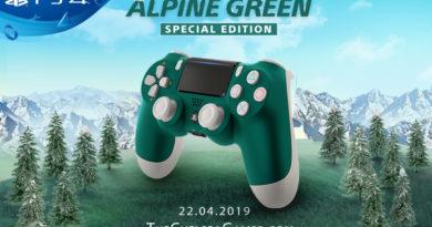 Alpine Green DUALSHOCK®4 Wireless Controller