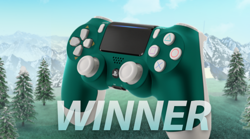 Alpine Green DUALSHOCK®4 Wireless Controller