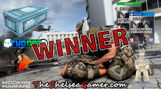 Call Of Duty®: Modern Warfare is here! We have gone Dark and we have a winner!